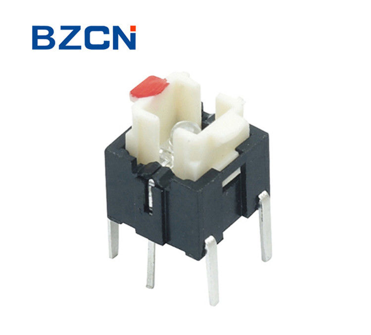 DIP Terminal Type Illuminated Tactile Switch Momentary Vertical ...