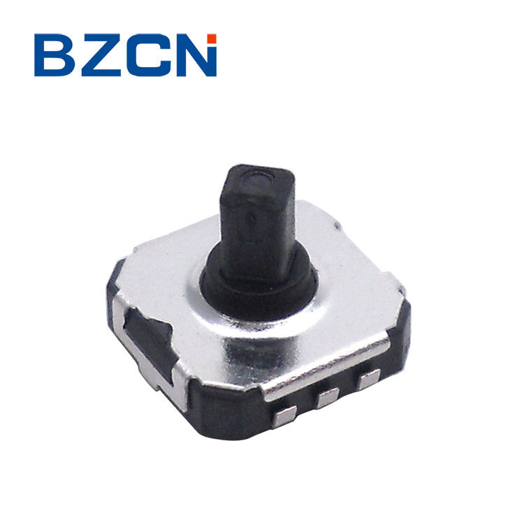 SMT / SMD Tactile Switch , Square Button Switch 5 Ways Position 50mA Rating