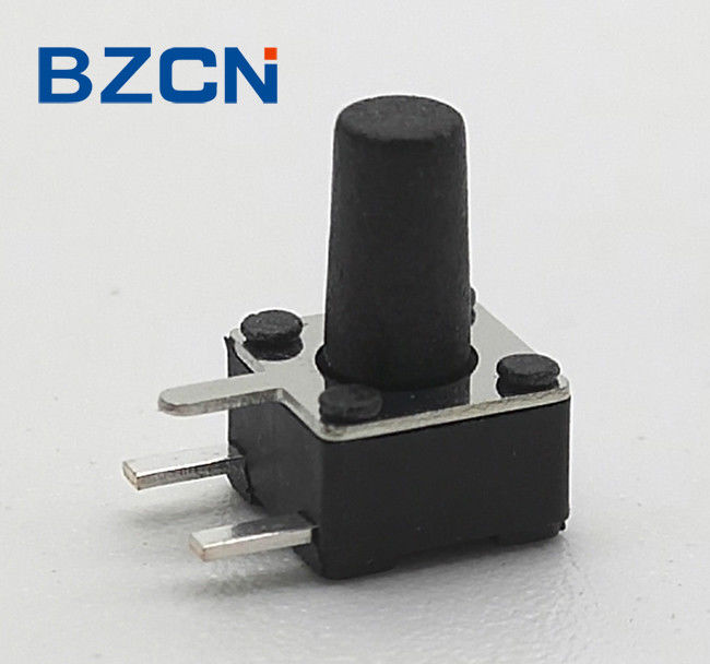 DIP Thru Hole SMT Tact Switch , Momentary Tactile Switch For Industrial Electronics