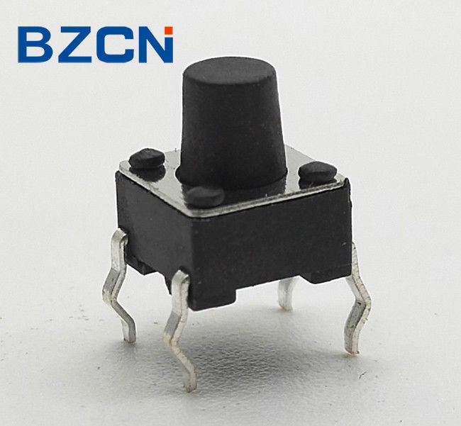 Sharp Feeling Normally Closed Tactile Switch Brass Terminal With Silver Coating