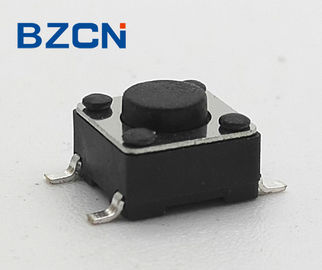 Industrial Momentary Push Switch Snap In Top Push Tactile Switch Long Travel Stem Push