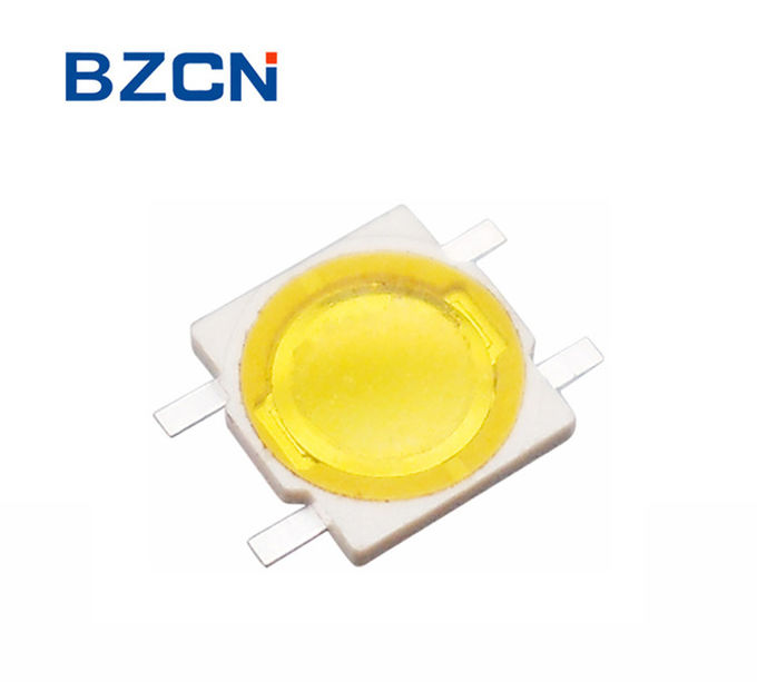 4 Pin Momentary Switch , Tactile Push Button Switch Ultra Yellow Thin Firm