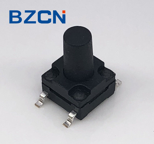 Reflow Solderable Surface Mount Tactile Switch Momentary Normal Push Button